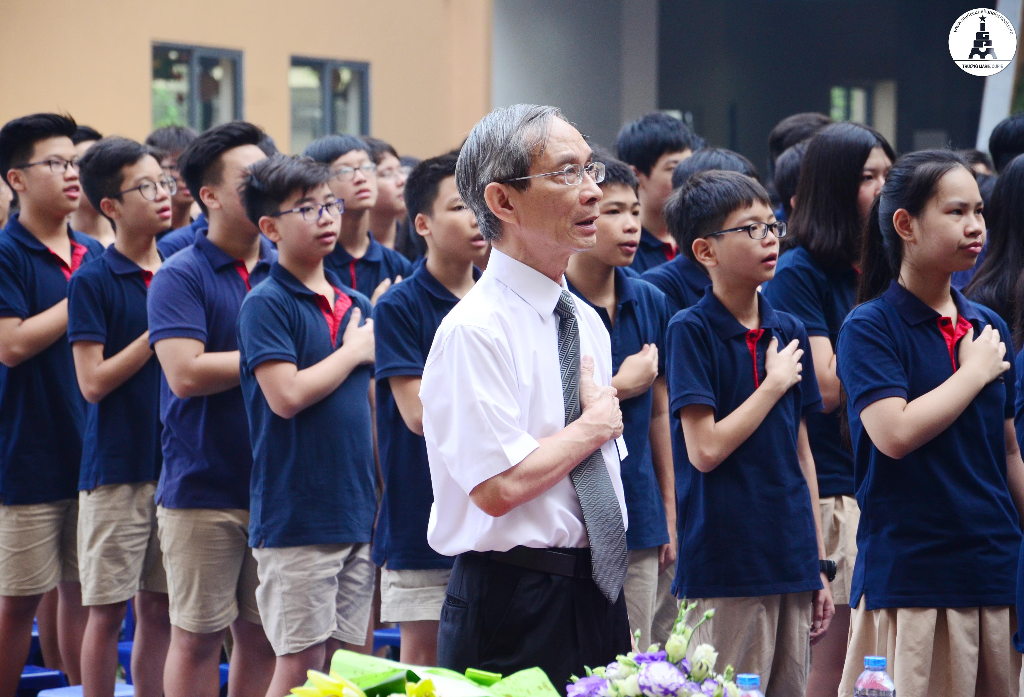 Kết quả hình ảnh cho Hiệu trưởng trường Marie Curie Hà Nội