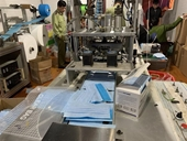 Phát hiện xưởng sản xuất khẩu trang y tế trái phép tại Hải Phòng