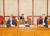 Tổng Bí thư, Chủ tịch nước chủ trì họp Bộ Chính trị cho ý kiến hoàn thiện các dự thảo Văn kiện Đại hội XIII của Đảng