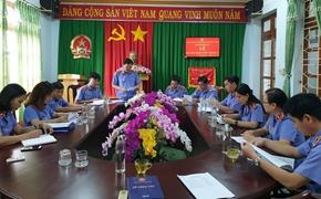4 đơn vị thuộc VKSND tỉnh Đắk Nông ký kết giao ước thi đua