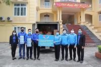 Chung tay hỗ trợ nhân dân Bình Xuyên, Vình Phúc phòng, chống dịch bệnh Covid-19