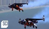 """""""Người dơi"""" khoác bộ cánh gắn 4 động cơ phản lực bay cao gần 2 000m"""