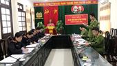 VKSND Thái Thụy Họp liên ngành giải quyết tin báo, vụ án hình sự