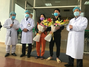 Hai bệnh nhân nhiễm Covid-19 ở Vĩnh Phúc được ra viện
