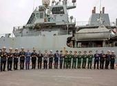 Tàu Hải quân Hoàng gia Anh cập cảng Hải Phòng