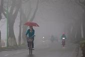 Bắc Bộ có mưa, trời rét, nồm ẩm trở lại