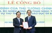 Chủ tịch UBND tỉnh Lạng Sơn làm Thứ trưởng Bộ GD- ĐT