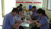 VKSND TP Cần Thơ Tình nguyện hiến máu trong mùa dịch Covid-19