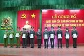 Công an tỉnh Thái Bình điều động cán bộ, chiến sỹ tăng cường đi cơ sở