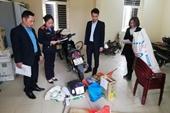 VKSND huyện Thái Thụy kiểm sát tiêu hủy vật chứng tại Chi cục THADS huyện