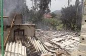 Hỏa hoạn thiêu rụi ngôi nhà gỗ trị giá hàng trăm triệu đồng