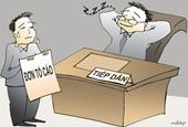 Giật mình tỉ lệ tiếp dân của lãnh đạo tỉnh Lạng Sơn