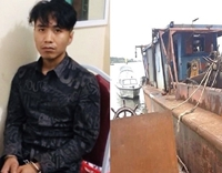 Trộm tàu thủy ở Hải Dương lái sang Hải Phòng bán