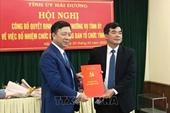 Đồng chí Nguyễn Hồng Sơn được bổ nhiệm làm Trưởng ban Tổ chức Tỉnh ủy Hải Dương