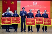 VKSND tỉnh Quảng Ninh đạt thành tích xuất sắc trong khâu đột phá