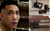 Nam thanh niên mang lưỡi lê và ma túy ra sân bay Nội Bài