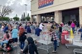 Người Mỹ vơ vét siêu thị như ngày tận thế