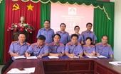 Cụm thi đua số 1 VKSND tỉnh Bình Phước ký kết giao ước thi đua