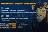 Đại học duy nhất của Việt Nam tăng hạng