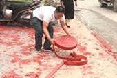 Chủ tịch UBND TP Hà Nội yêu cầu làm rõ vụ đốt pháo đám cưới