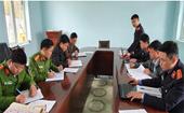 Kiểm tra công tác tiếp nhận, xử lý tố giác, tin báo về tội phạm tại 6 xã huyện Mường Tè