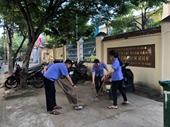 Tuổi trẻ VKSND TP Đà Nẵng thực hiện các biện pháp phòng chống dịch Covid-19