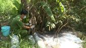 Bắt quả tang cơ sở giặt ủi xả nước thải không qua xử lý trên đảo Phú Quốc