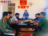 VKSND huyện Đắk Glong trực tiếp kiểm sát tại UBND các xã