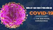 Những lưu ý quan trọng về phòng, chống dịch Covid-19