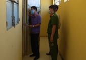 VKSND huyện Gò Công Đông kiểm sát trực tiếp công tác tạm giam, tạm giữ