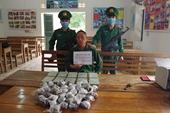 Vượt biên sang Lào vận chuyển thuê 10 bánh heroin với giá bèo bọt