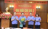 Chi bộ 2 - Đảng bộ Báo Bảo vệ pháp luật tổ chức Đại hội nhiệm kỳ 2020-2022