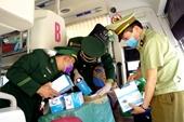 Phát hiện vụ buôn lậu 30 000 khẩu trang sang Lào