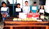 Bắt giữ 5 người Lào mang vũ khí vận chuyển ma túy vào Việt Nam