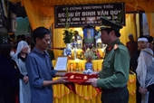 Bộ Công an thăng cấp bậc cho Đại úy công an tỉnh Ninh Bình hy sinh khi làm nhiệm vụ