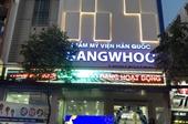 Người phụ nữ ngậm đắng vì làm đẹp ở Thẩm mỹ Hàn Quốc Gangwhoo