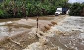 Yên Bái lại xuất hiện mưa đá, tỉnh lộ 171 bị ngập úng cục bộ