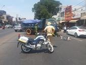 Va chạm kinh hoàng trên đường phố, 1 người phụ nữ tử vong