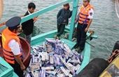 NÓNG Phá chuyên án buôn lậu thuốc lá trên biển lớn nhất từ trước đến nay