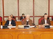 Tổng Bí thư, Chủ tịch nước chủ trì họp Bộ Chính trị về công tác phòng, chống dịch COVID-19