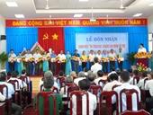 """Thị trấn Vàm Láng đón nhận Danh hiệu đạt chuẩn """"Văn minh đô thị"""""""