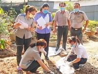 Kiểm sát việc tiêu hủy vật chứng tại Cục THADS tỉnh Kiên Giang