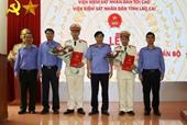 Bổ nhiệm Viện trưởng VKSND huyện Bảo Yên