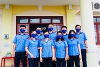 Chi đoàn Khối Tư pháp huyện Đak Pơ chung tay phòng, chống dịch Covid-19
