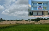 San lấp đất ruộng làm dự án khi chưa có ĐTM, một công ty BĐS bị phạt 300 triệu đồng