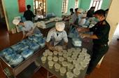 Cận cảnh cuộc sống hàng ngày trong khu cách ly ở Điện Biên