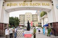 Tất cả nhân viên y tế Bệnh viện Bạch Mai đều có kết quả âm tính với COVID-19