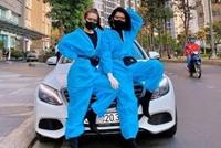 Sao Việt nổi bật với trang phục bảo hộ