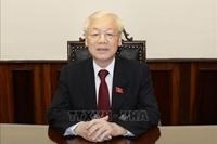 Tổng Bí thư, Chủ tịch nước Nguyễn Phú Trọng Chung sức, đồng lòng để chiến thắng đại dịch COVID-19