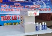 Nhiều sáng chế độc đáo chung tay phòng chống dịch COVID-19 ở Đà Nẵng